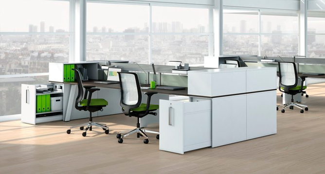Steelcase fusion bench