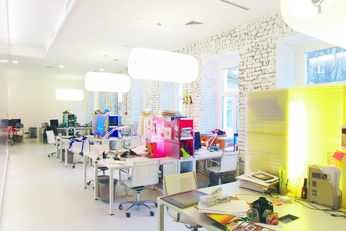 Office solutions for Space design agency